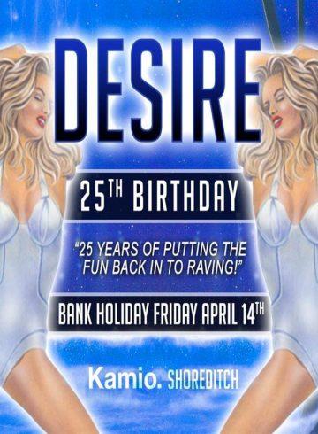 Desire 25th Birthday