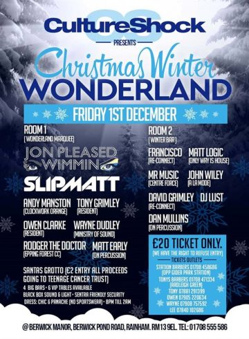 Culture Shock Presents Christmas Winter Wonderland