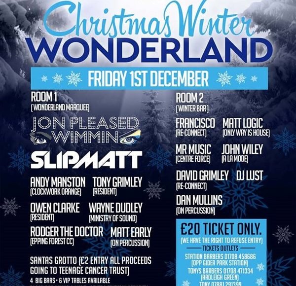 Culture Shock Presents Christmas Winter Wonderland