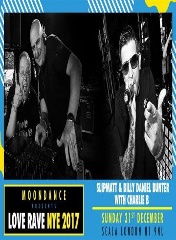 Moondance presents Love Rave NYE 2017