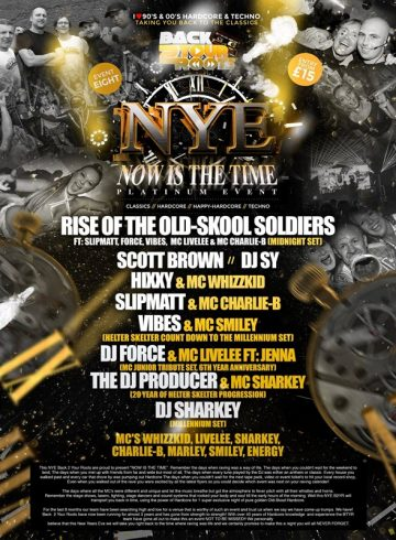 Back 2 Your Roots, Now Is The Time NYE 2017 Platinum Event